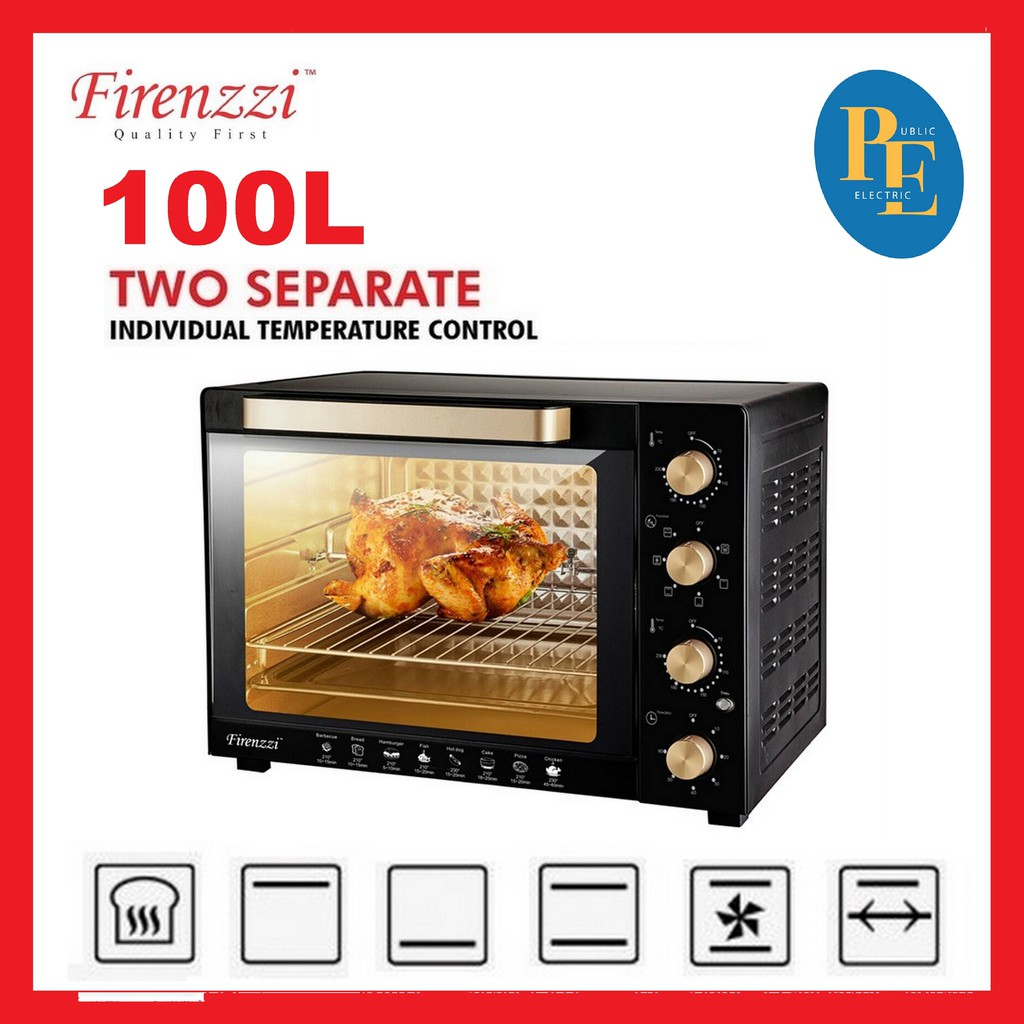 Firenzzi Separate Temperature Control Electric Oven 100L - TO-5110