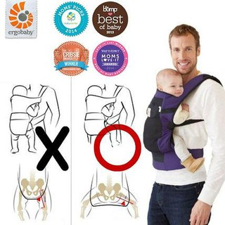 Ergobaby Performance Charcoal Black 100 Original Best Carrier