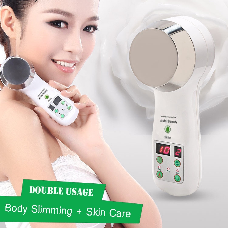 1MHz Ultrasonic Cavitation Machine Body Slimmer Lose Weight Body Fat Burner  Massager Facial Skin Care Cellulite Machine