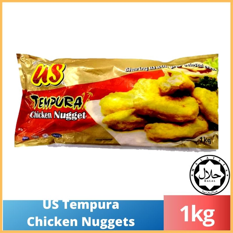MUST TRY!!! US Tempura Chicken Nugget 1KG (Premium Food)