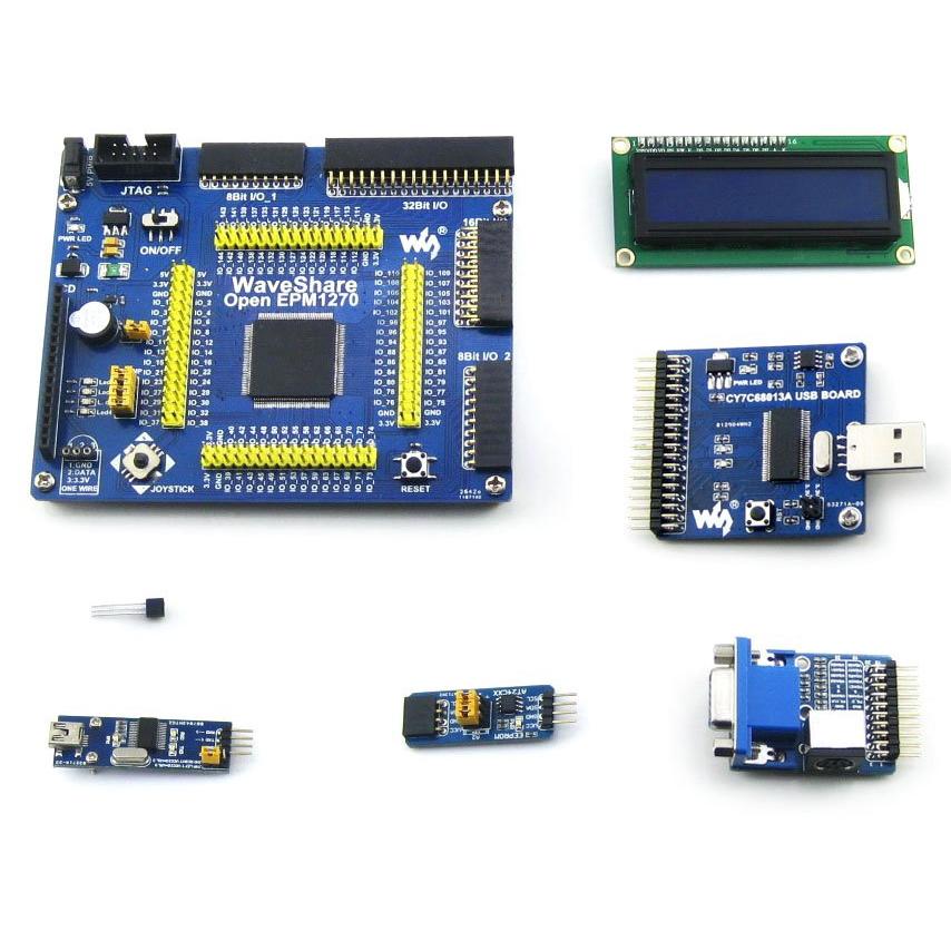 OpenEPM1270 Package A Altera MAX II CPLD Development Board EPM1270 + 6  Accessory Module Kits =OpenEPM1270 Package A