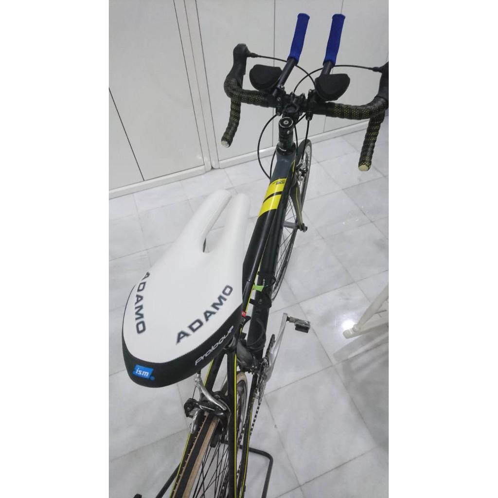 ISM Adamo Podium Comfortable Split Seat Saddle Road Bike Bicycle Triathlon Black
