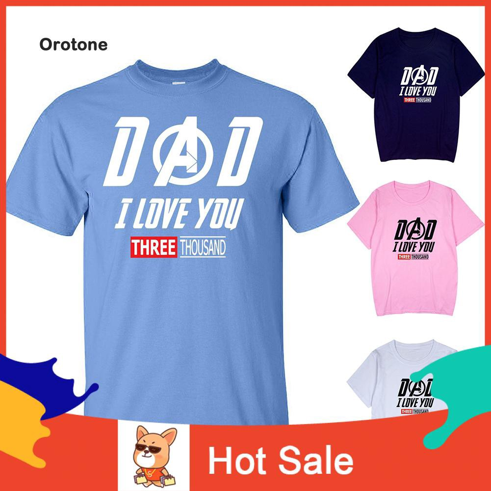 DAD-I Love You 3000 Iron Man Avengers Endgame T-Shirt Men Women All Size S-3XL