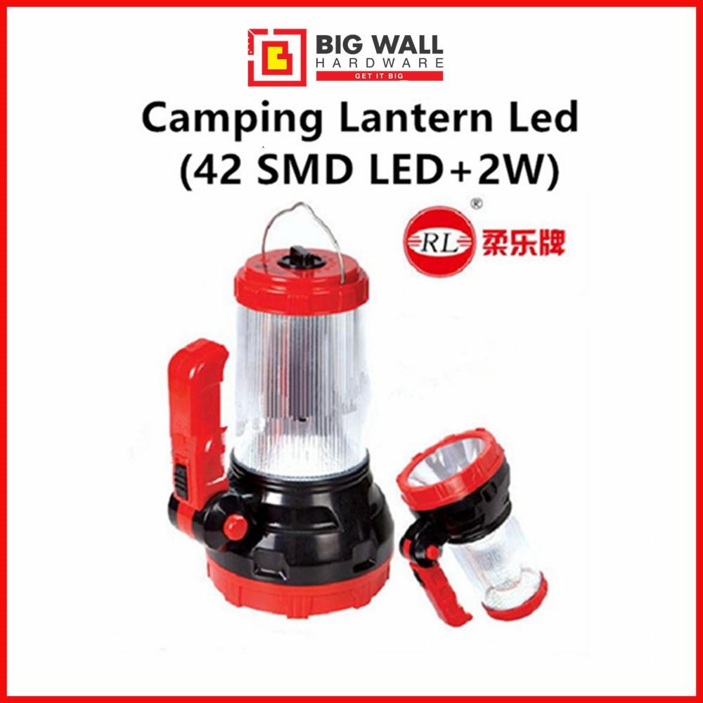 Camping Lantern 42 SMD LED + 2W LED