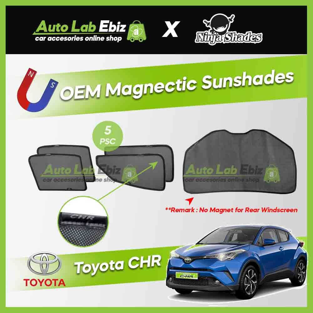 Toyota Camry CHR Ninja Shades OEM Magnetic Sunshade (5pcs)