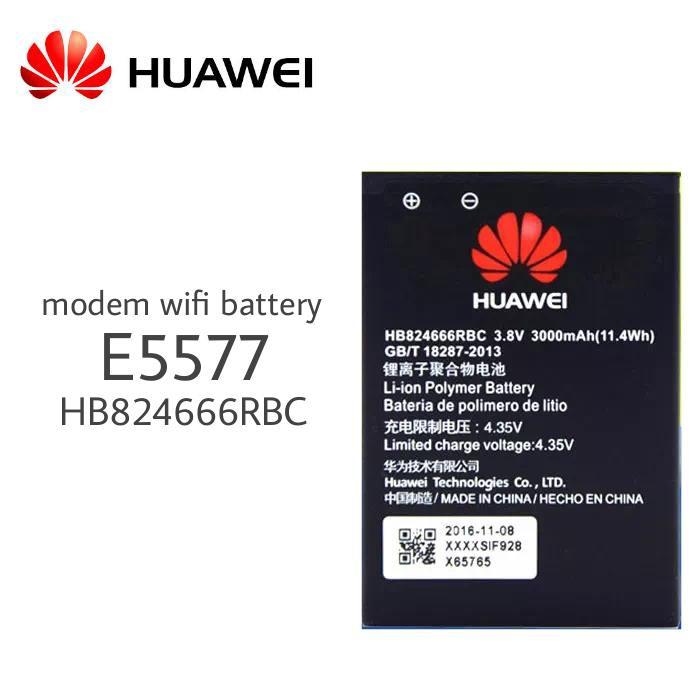 [Import] Huawei Mobile Wifi Battery E5577 3000mAH HB824666RBC