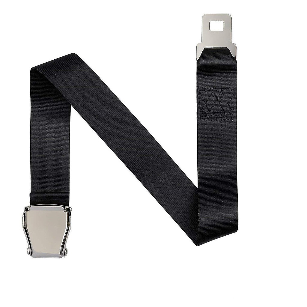 Adjustable Airplane Airline Aircraft Extra Long Seat Belt Extender for Most