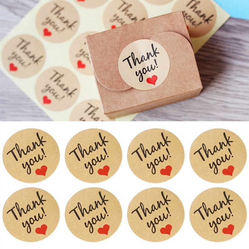 FOOD STICKERS THANK YOU STICKERS,FAVOUR SEALS,THANK YOU LABELS,THANK YOU SEALS