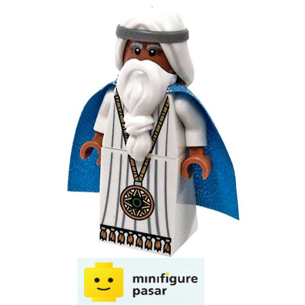 NEW LEGO Vitruvius with Medallion FROM SET 5004238 THE LEGO MOVIE tlm071