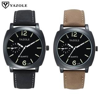 Yazole 339 Luminous Pointer Men Casual Quartz Watch (2 Colors)