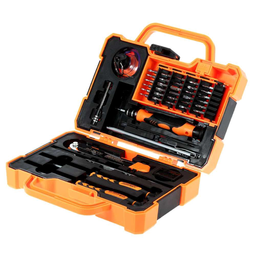 JAKEMY JM-8139 45 in 1 Professional Precise Screwdriver Set Repair Kit Opening Tools for Cellphone Computer Electronic