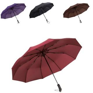 152140ca296c5 ☻Wind Resistant Three Folding Automatic Umbrella Rain Women Auto Luxury  Bime Windproof Parasol | Shopee Malaysia