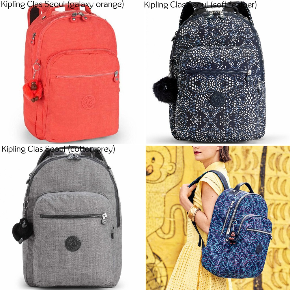 d7f280c6e3 NWT Authentic Kipling Clas Challenger Backpack Bagpack School Bag ...