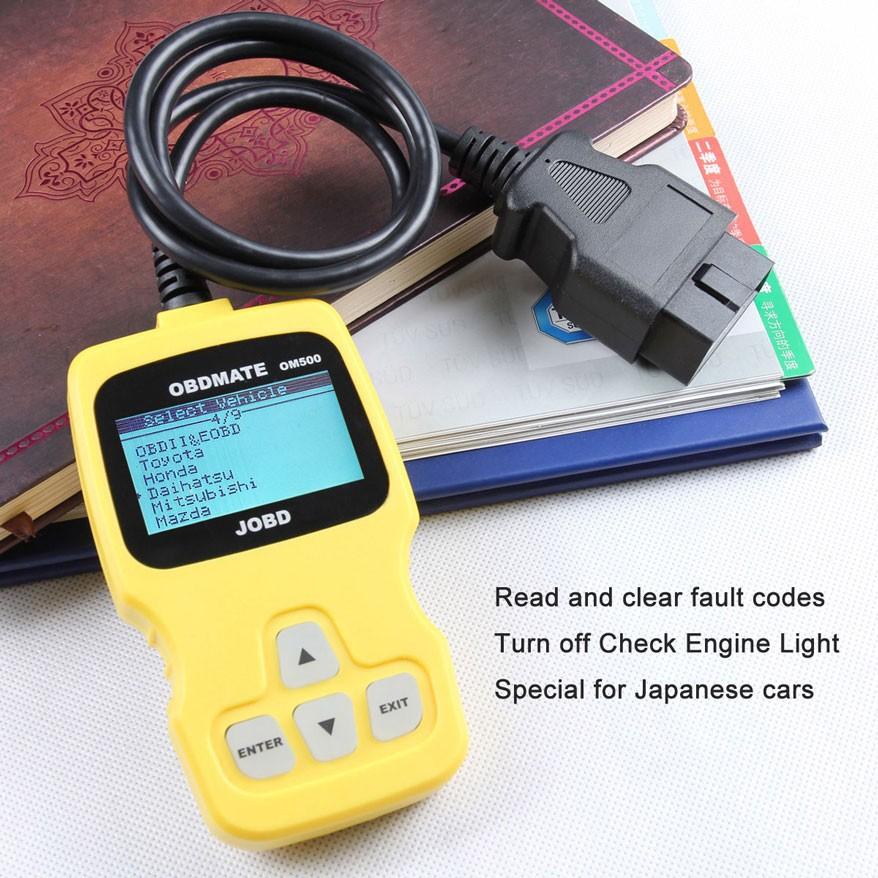 JOBD Car Fault Code Reader Scanner For Second Hand Japanese car JP701 OM500