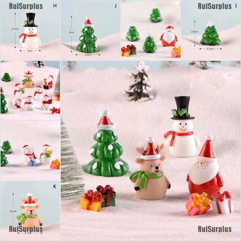 Dollhouse Miniature Figurines So Cute for Christmas Choice of 1