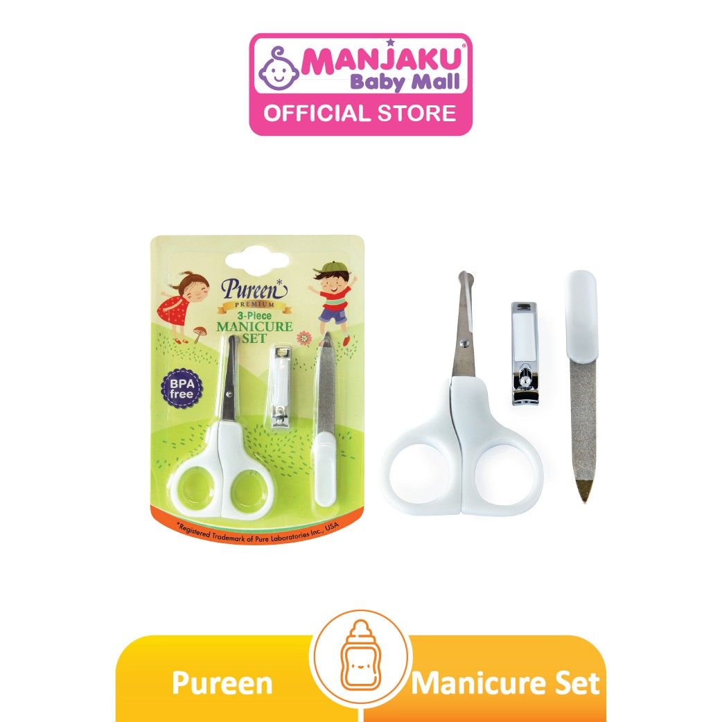Pureen Manicure Set - 3 Pcs