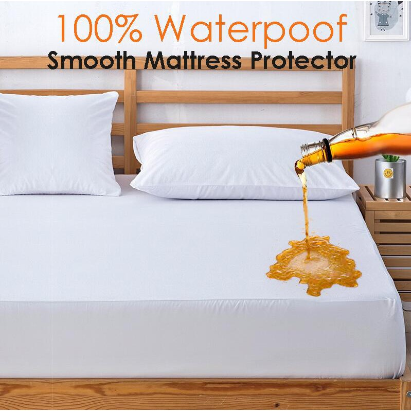 Waterproof Quilted Washable Mattress Protector Cover Matress SheetBed Pillow
