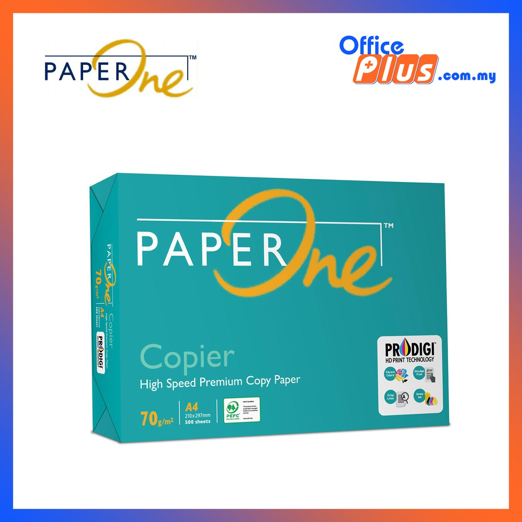 Free Shipping - PaperOne A4 Copier Paper 70gsm - 500 sheets - 10 Reams