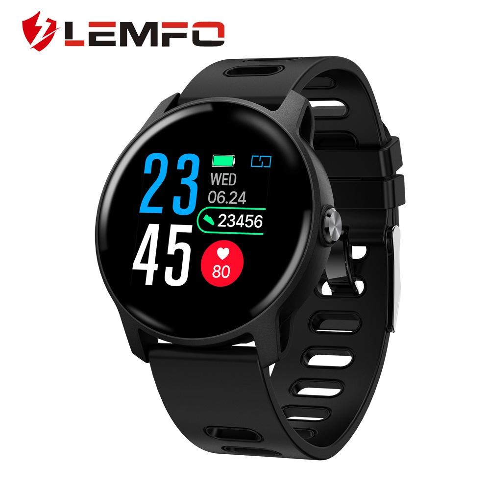 LEMFO S08 smart watch heart monitor 1 3inch touch screen IP68 waterproof