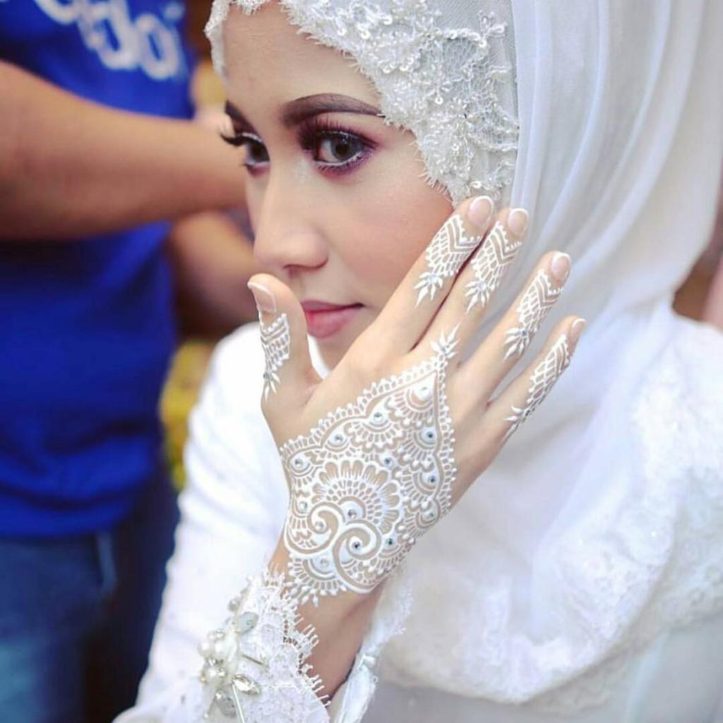 White Henna Inai Putih
