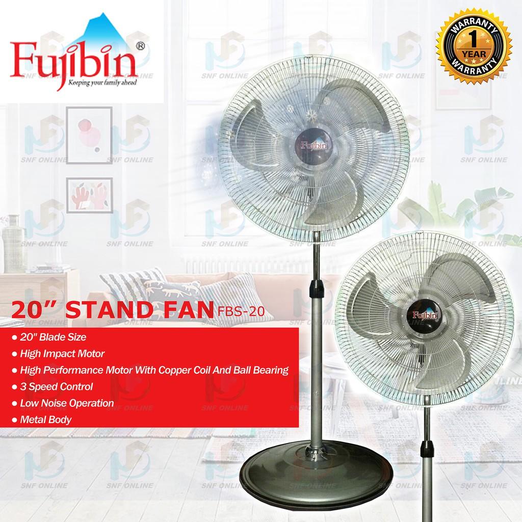 """Fujibin 20"""" Industrial Stand Fan (Metal Blade) FBS-20"""