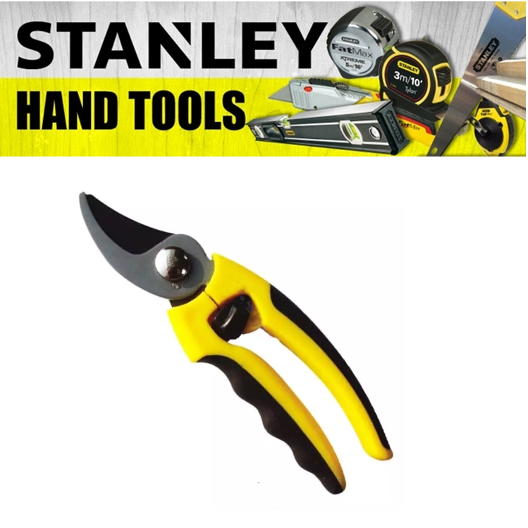 STANLEY PRUNING SHEARS  200 METER 8 INCH ANVIL BYPASS