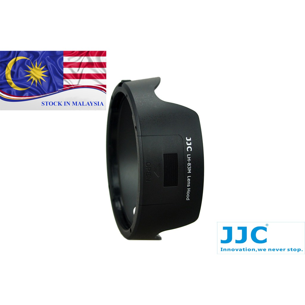 JJC LH-83M Lens Hood for Canon EF 24-105mm f/3.5-5.6 IS STM (Ready Stock In Malaysia)
