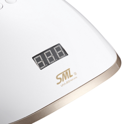 SML S848W33 LEDs UV LED Manicure Tool Curing Nail Gel Dryer Lamp (CHAMPAGNEGOLD)