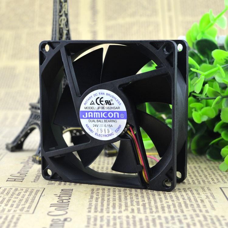 for NMB 3108NL-05W-B50 24V 0.19A 8020 8cm Inverter Cooling Fan