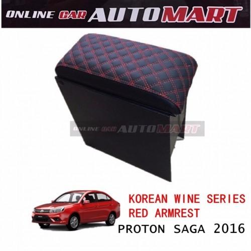 Korean Wine Series Armrest For Proton Saga 2016