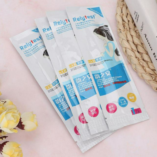 (Malaysia Ready Stock) Early Urine Pregnancy Test UPT Relytest Pen Home HCG Urine