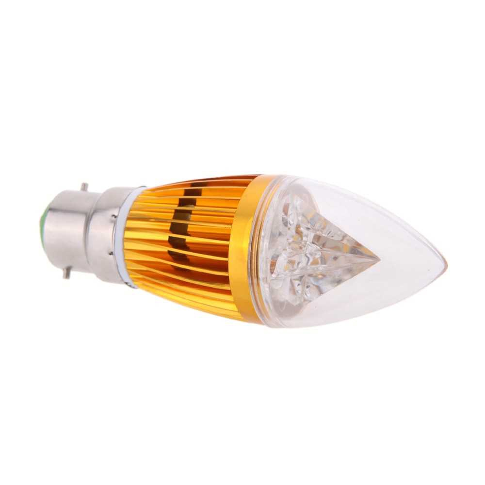 B22 10W LED Candle Light Bulb Chandelier Lamp Spotlight High Power AC85-265V (W)
