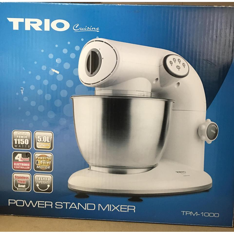 TRIO POWER STAND MIXER TPM-1000 | Sho Malaysia on