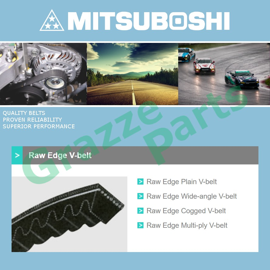 Mitsuboshi V Belt 5660 for Air Cond / Alternator / Power Steering