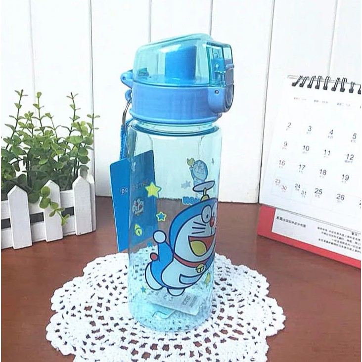 [ READY STOCK ]  550ml Kid Baby Cup Student Plastic Water Bottle Resistant Learning Cup Cute Cartoon Kitchen Jualan Murah