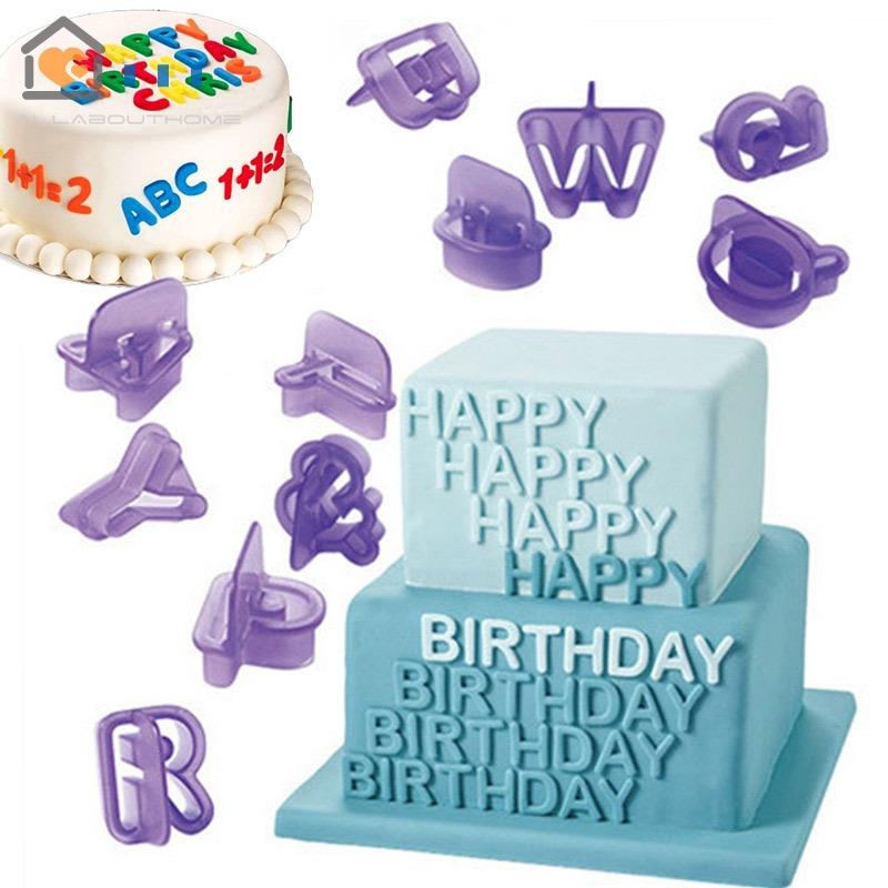 Remarkable Mold Fondant Letter Mould Number Cookie Cutter Cake Baking Biscuit Funny Birthday Cards Online Hendilapandamsfinfo