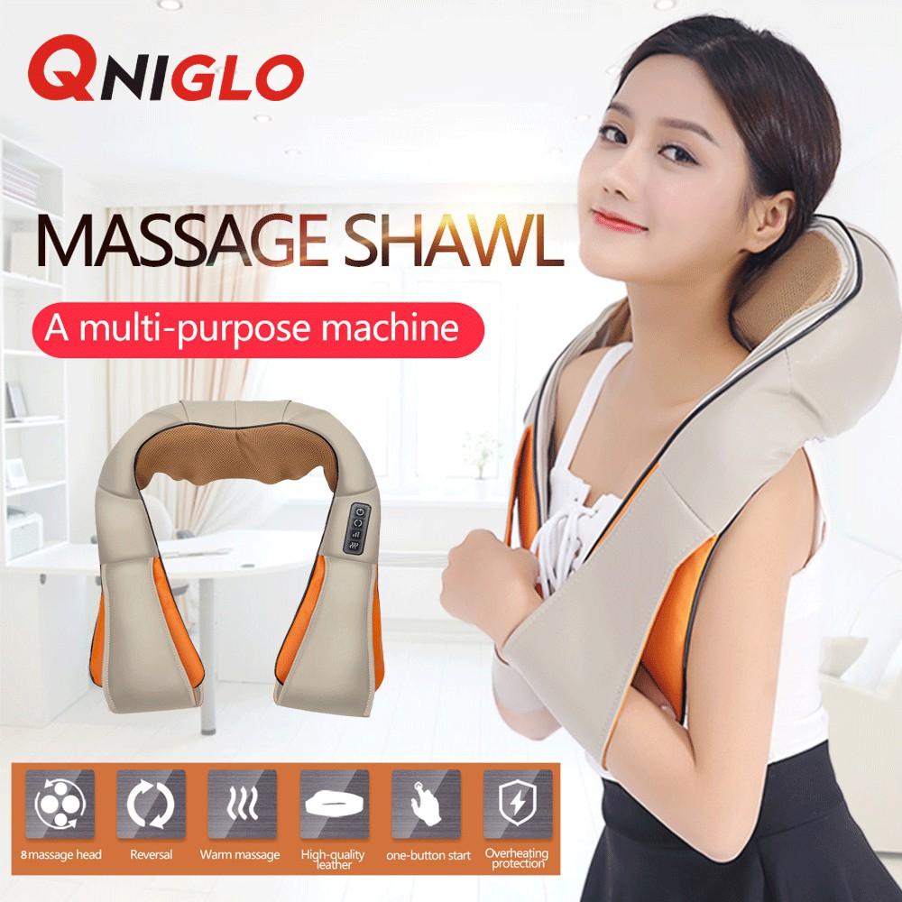 Xiaomi Mijia Lf Neck Massage Pillow Relax Muscle Therapy Leravan Magic Pad Massager Shopee Malaysia