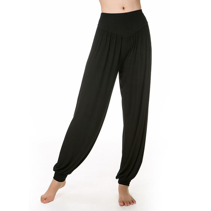 ae02feba39 Yoga Pants Women Plus Size Bloomers Dance Yoga TaiChi Full Length Pants  ZXCV | Shopee Malaysia