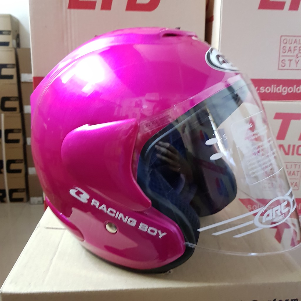 Yamaha Shoei V8n Motorcycle Helmet With Clear Visor Blue Shopee 311 Malaysia