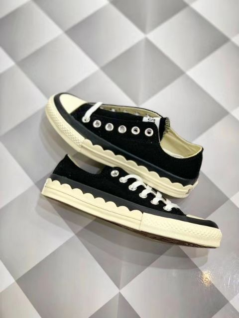 CONVERSE LOW CUT SNEAKERS LACE PATTERN PREMIUM HIGH QUALITY