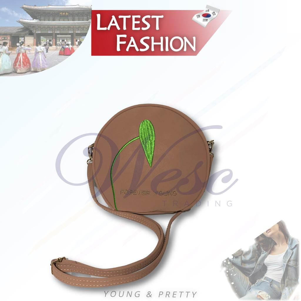 Korean Fashion Kstyle Fashion Sling Bag / Shoulder Bag (Pink)