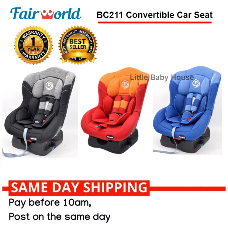 846eaa1aea4 Ready Stock !! FairWorld BC321 Infant Carrier Car Seat for New Born to 2  Yrs Old