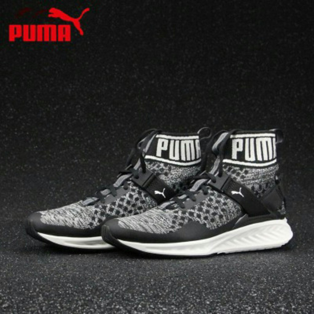 reputable site 348e5 01ff2 ready stock original Puma Ignite 3 EvoKnit Sneakers high top 189697-01 02  05 09
