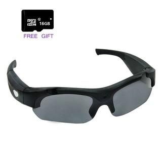 aeadff91bfb1 Camera Glasses Video Recording 5MP Hidden Camera HD Eyewear Camcorder  Sunglasses | Shopee Malaysia