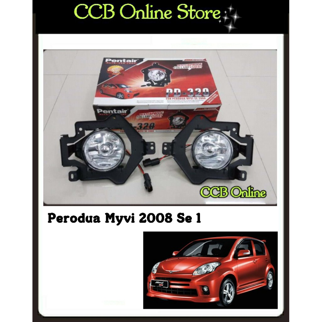 Pentair Perodua Myvi SE 1 2008 Fog Lamp Without Wiring Cable