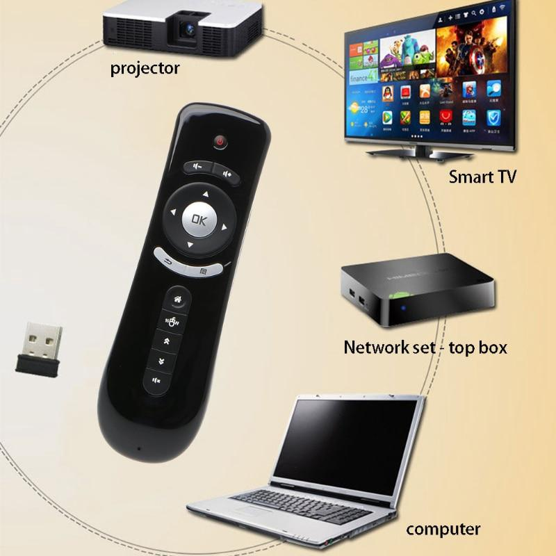 High Quality T2 Fly Air Mouse Wireless 3D Remote Control For PC