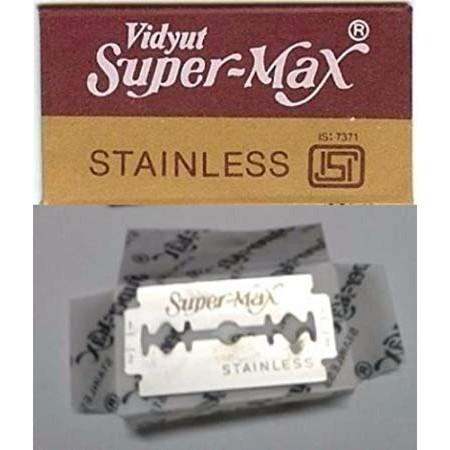 SUPER-MAX STAINLESS MATA PISAU 40PACKS X 5 BLADES
