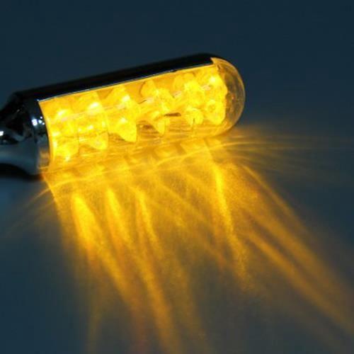 12V 12LE TURN SIGNAL LIGHT CORNERING LAMP BLINKER FOR MOTORCYCLE MOTORBIE -2PCS