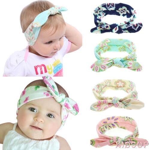 2019 Baby Girls Toddler New Big Headband Headwear Hair Bow Accessories TY