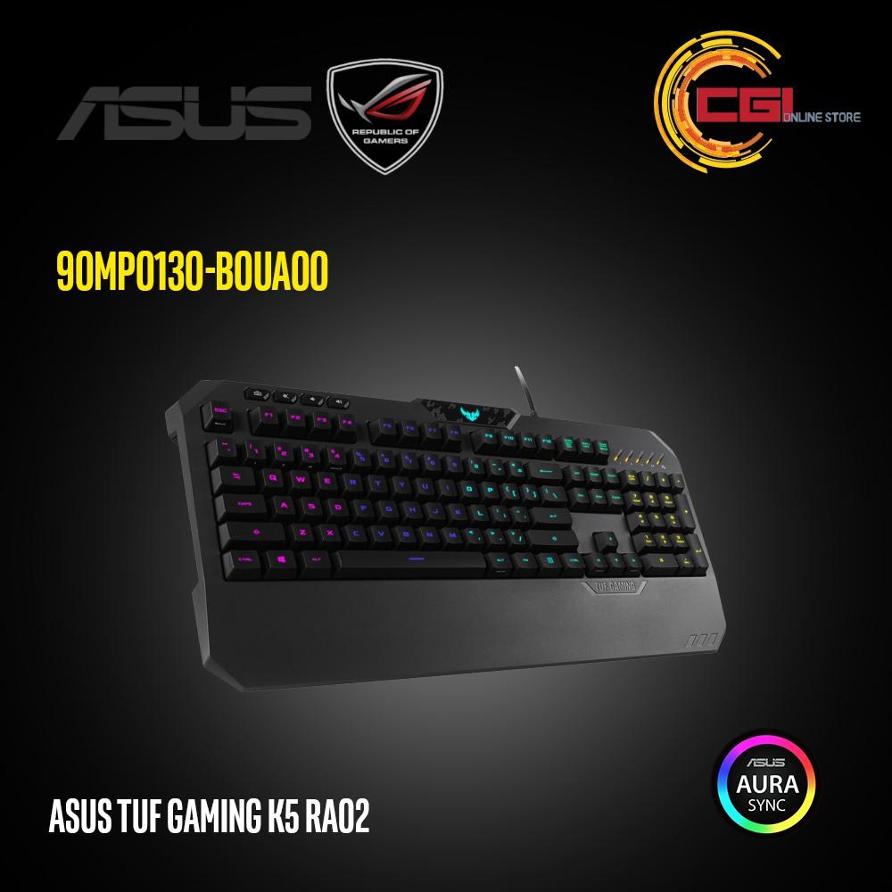 Asus TUF Gaming K5 RA02 RGB Gaming Keyboard (90MP0130-B0UA00)
